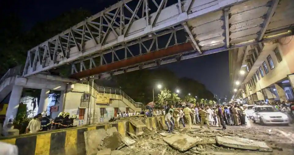 How the Mumbai bridge and civic body's claims collapsed