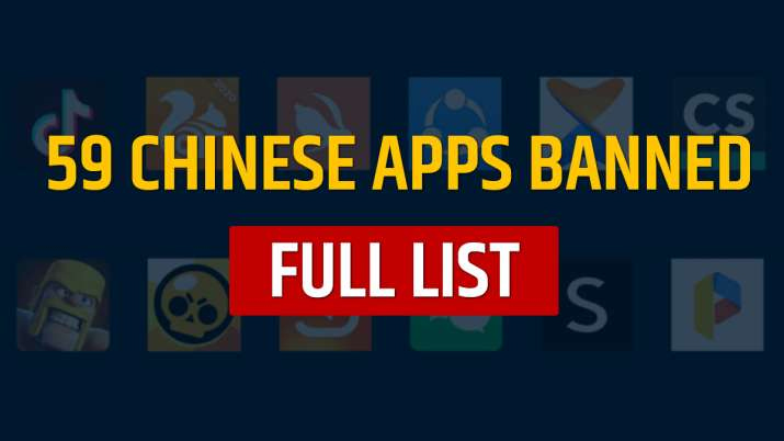 India ban 59 Chinese apps including TikTok, Helo, WeChat