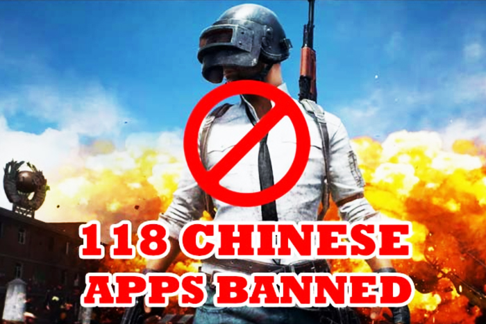 PUBG Video Game App Among 118 New Chinese Apps Banned
