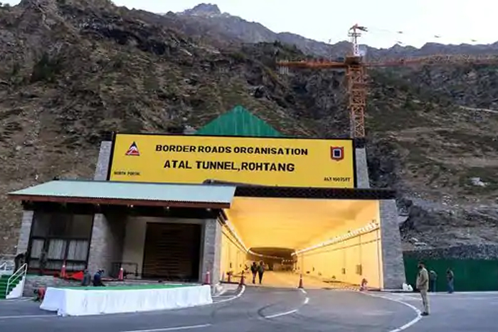 Atal Tunnel witnesses three accidents within 24 hours of inauguration