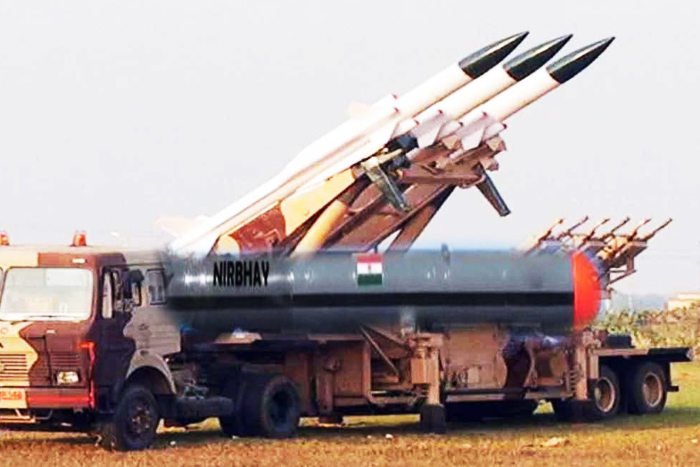 India Moves Terrain-Hugging Nirbhay Missiles With 1,000-Km Range To Defend LAC