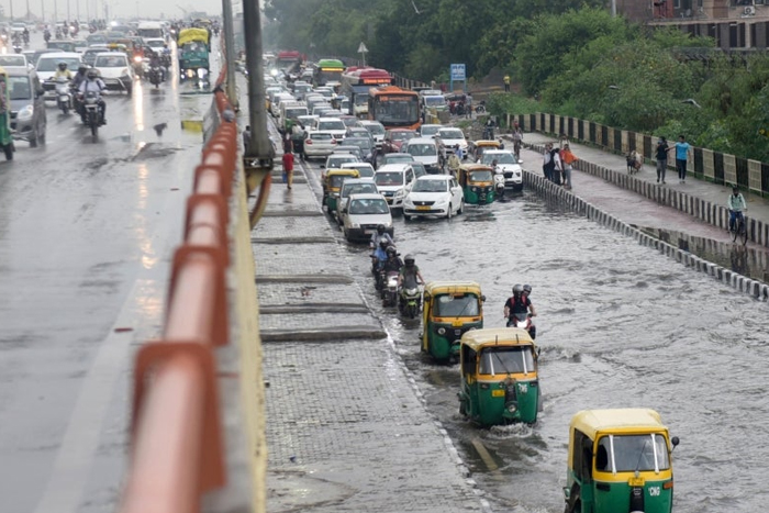 Heavy Rain In Delhi, Nearby Areas; Air Traffic May Get Affected