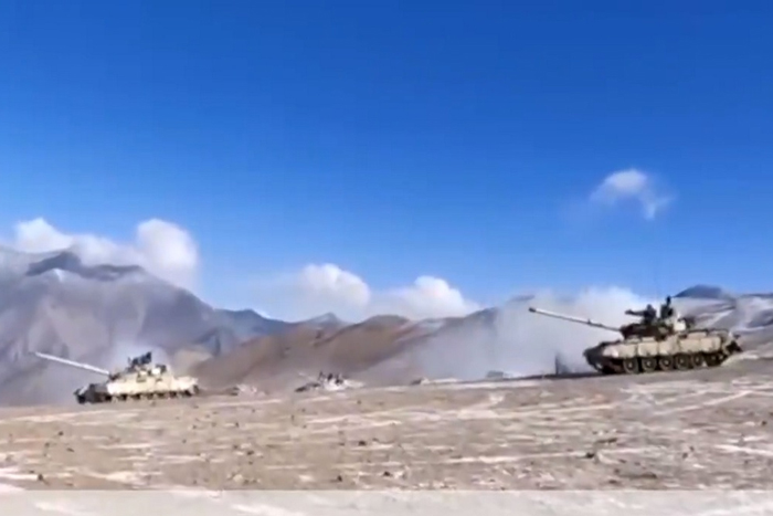 China surprises India with its speed, moves out 200+ tanks from Pangong Tso