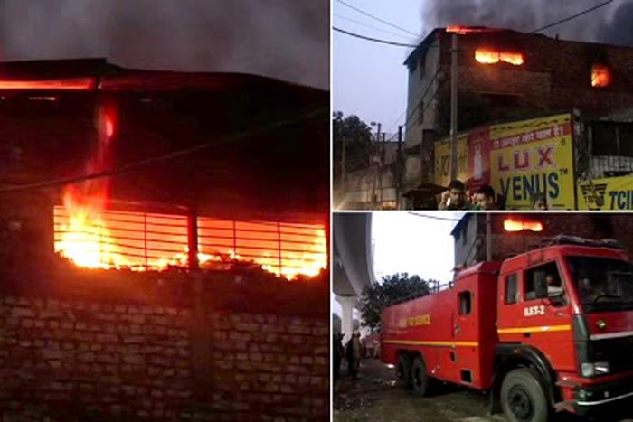 Delhi: One Dead After Fire Breaks Out At Factory In Pratap Nagar, 18 Fire Tenders On Spot
