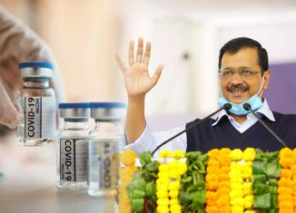 Delhi CM Kejriwal To Receive His First Covid-19 Vaccine Dose Today