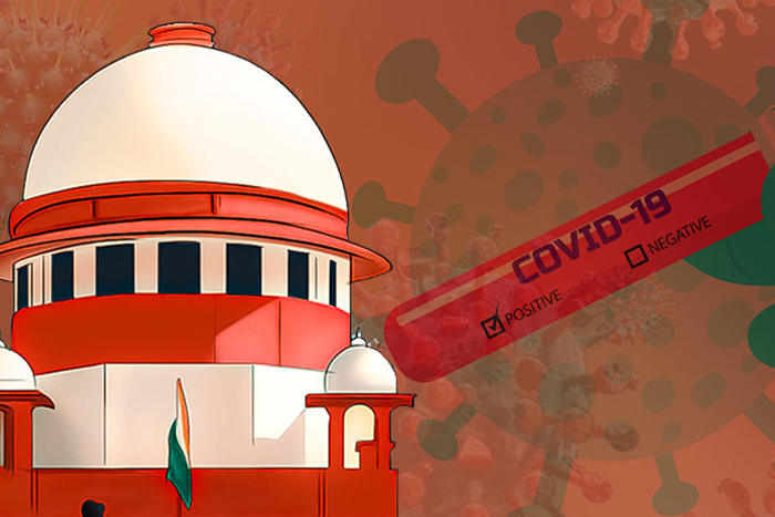 50% Supreme Court Staff Test Positive, Judges To Work From Home