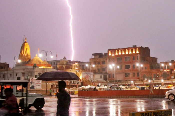 Lightning Claims 19 Lives In Rajasthan, 11 Killed Near Amber Fort In Jaipur